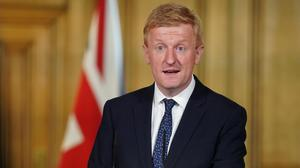 """Oliver Dowden has called on sport to """"look after itself"""" in the first instance in the coronavirus pandemic (Handout/10 Downing Street)"""