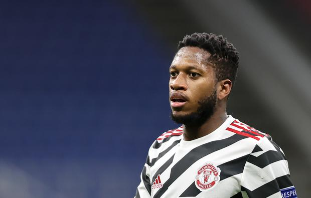 Brazilian midfielder Fred was targeted for online racial abuse after Manchester United's recent FA Cup defeat at Leicester (Fabrizio Carabelli/PA)