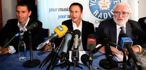 Dennis Wise had an up and down time at Elland Road (Gareth Copley/PA)