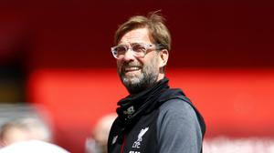 Jurgen Klopp and his Liverpool players will not have to quarantine on their return from a pre-season camp in Austria. (Clive Brunskill/NMC Pool)