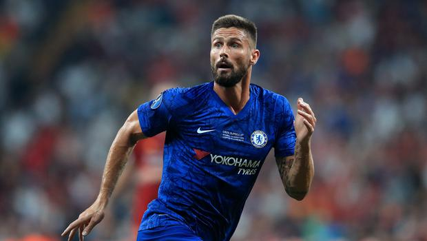 Chelsea's Olivier Giroud has struggled for game time this season. (Adam Davy/PA)