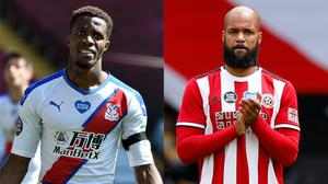 Wilfried Zaha and David McGoldrick have spoken out about racist online abuse (Rui Vieira/Andrew Boyers/NMC Pool/PA