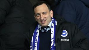 Tony Bloom is calling for change (Andrew Matthews/PA)