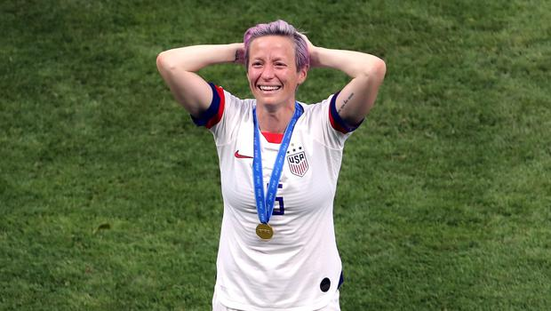 Megan Rapinoe scored the opener with a penalty as the US beat Holland 2-0 (PA Wire/PA Images)