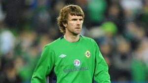 Out to impress: Paddy McCourt hopes to win his place back in the Northern Ireland set-up