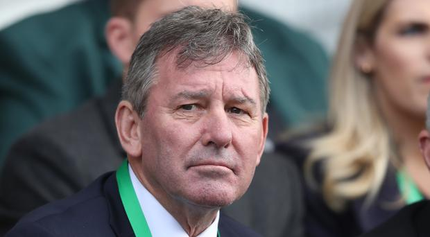 Former Manchester United captain Bryan Robson was part of the ceremony (Niall Carson/PA)