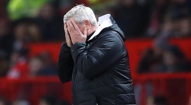 Newcastle head coach Steve Bruce does not want to be on the wrong end of an FA Cup giant-killing (Martin Rickett/PA)