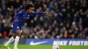 Chelsea's Willian could be snapped up by Paris St Germain (Nick Potts/PA)