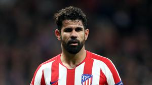 Atletico Madrid's Diego Costa scored his first goal since October. (Nick Potts/PA)