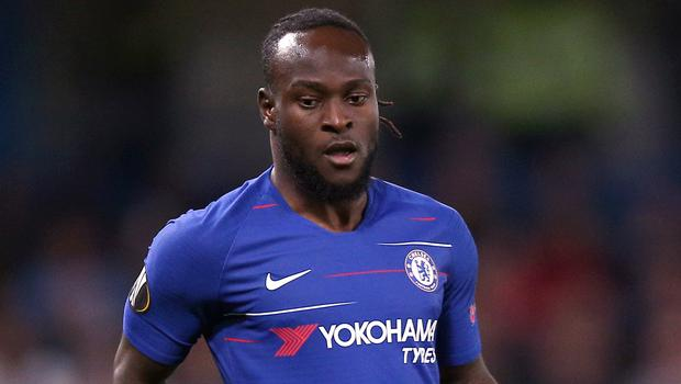 Victor Moses won the Premier League title with Chelsea (Nigel French/PA)