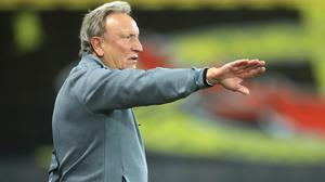 Middlesbrough manager Neil Warnock returned a positive Covid-19 test after feeling unwell (Adam Davy/PA)