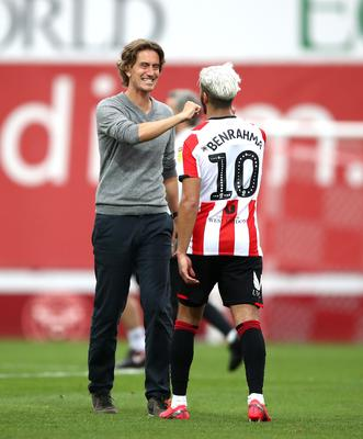 Brentford head coach Thomas Frank has impressed since he stepped up from his role as assistant in October 2018 (Tim Goode/PA)