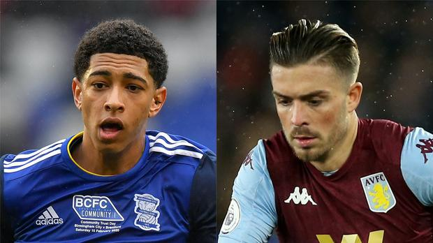 Jude Bellingham and Jack Grealish have been linked with Manchester United (PA)