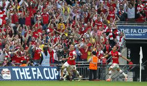 Ramsey also scored the Gunners' extra-time winner against Hull in 2014 (Peter Byrne/PA)