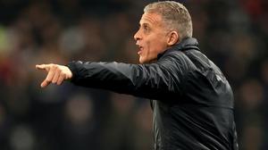 Keith Curle holds ambitions of managing in the Premier League (Mike Egerton/PA)