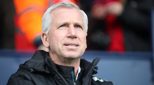 Alan Pardew was sacked as manager of West Brom in April 2018. (Nick Potts/PA)