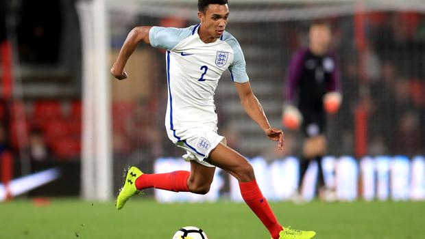 Alexander-Arnold has represented England at Under-21 level