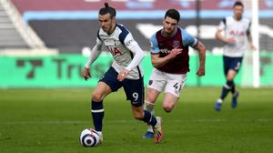 Gareth Bale is beginning to find his best level after a slow start to life back at Tottenham (Neil Hall/PA)