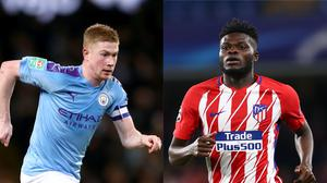 Kevin De Bruyne and Thomas Partey are the topic of the latest transfer rumours (Tim Goode/John Walton/PA)