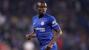 N'Golo Kante returned home from Chelsea's pre-season tour to aid recovery of a knee injury (Adam Davy/PA)