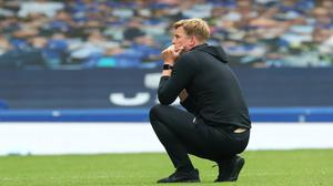 Eddie Howe reflects on Bournemouth's Premier League relegation after Sunday's clash at Everton (Catherine Ivill/PA)