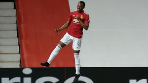 Anthony Martial came off the bench to score the winner (Martin Rickett/PA)