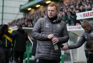 Celtic manager Neil Lennon returned to Hibs for the first time since leaving the club in January (Graham Stuart/PA)
