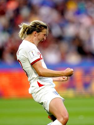 England's Ellen White is in contention for the golden boot (John Walton/PA)