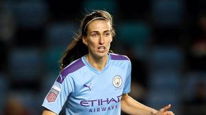 Jill Scott has signed a new contract with Manchester City (Martin Rickett/PA)