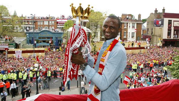 Patrick Vieira enjoyed a fine spell at Arsenal during his playing career. (PA Archives)