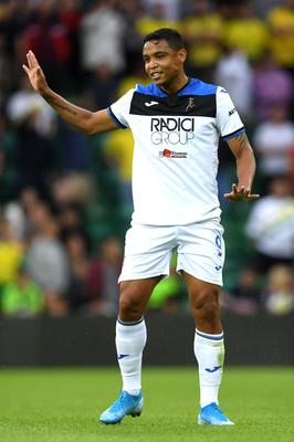 Atalanta are on course for a second season of Champions League football after Luis Muriel hit the winner at Cagliari (Joe Giddens/PA)