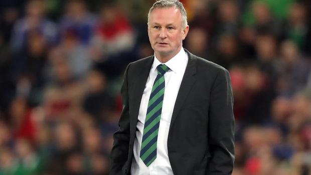 Michael O'Neill will ignore events between Wales and Hungary until after Northern Ireland's match (Niall Carson/PA)