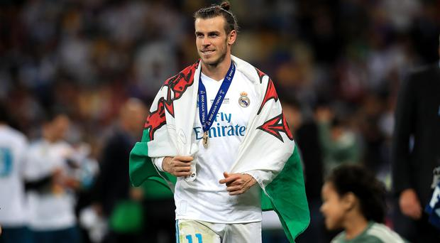 Gareth Bale is set to stay at Real Madrid (Mike Egerton/PA)