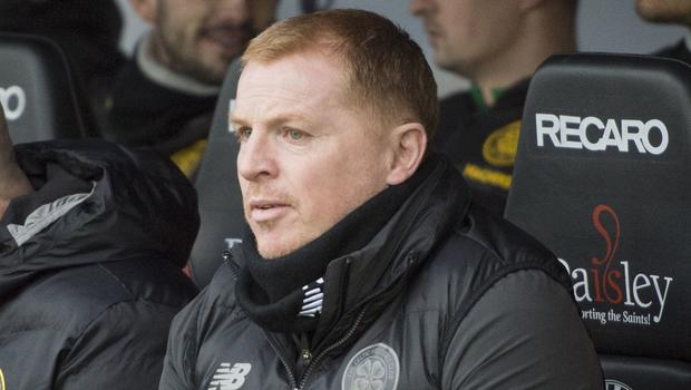 Don't write us off, says Celtic manager Neil Lennon (Ian Rutherford/PA)