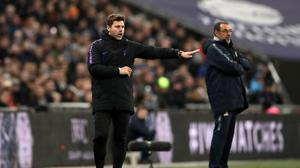 Tottenham boss Mauricio Pochettino, left, and Chelsea head coach Maurizio Sarri meet at Stamford Bridge on Thursday night (John Walton/PA)