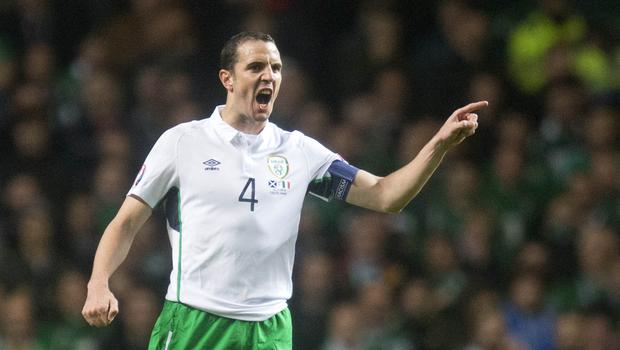 Republic of Ireland defender John O'Shea will win his 118th and final cap against the USA on Saturday (Jeff Holmes/EMPICS)