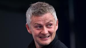 Ole Gunnar Solskjaer is upbeat about Manchester United's situation (PA)