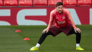Lionel Messi is one of 28 current and former footballers part of a new awareness campaign video produced by FIFA and the World Health Organization (Ian Hodgson/PA)