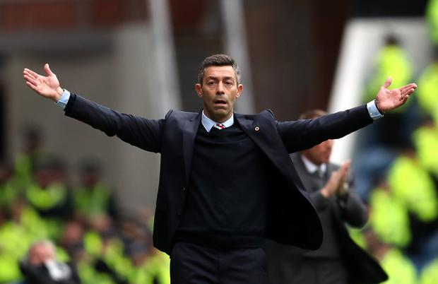 Pedro Caixinha did not last long at Rangers (Jane Barlow/PA)