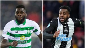 Odsonne Edouard and Danny Rose are being linked with moves (Jeff Holmes/John Walton/PA)