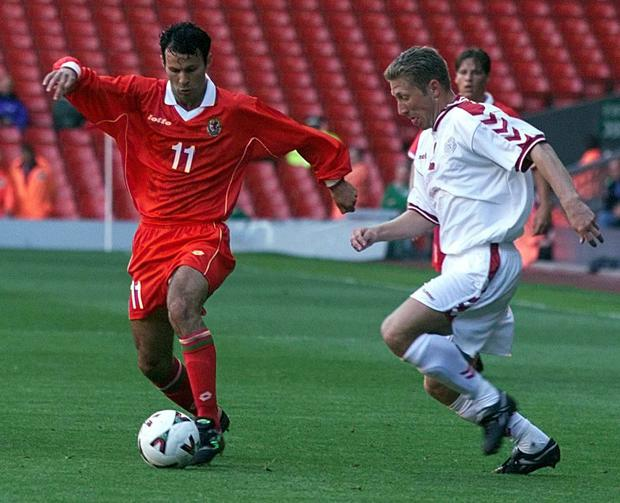 Giggs could be one of Wales' most influential players but repeatedly sat out friendly games (Phil Noble/PA)