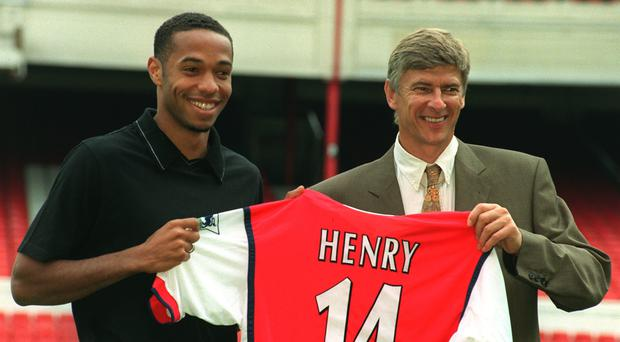 Signing Thierry Henry is an undoubted highlight of Arsene Wenger's Arsenal reign. (Tony Harris/PA)