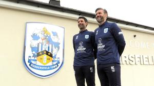 Danny Cowley and his brother and assistant Nicky arrived at Huddersfield last September (PA)