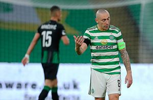 Mood music: Scott Brown says any unhappy players at Celtic should speak to him