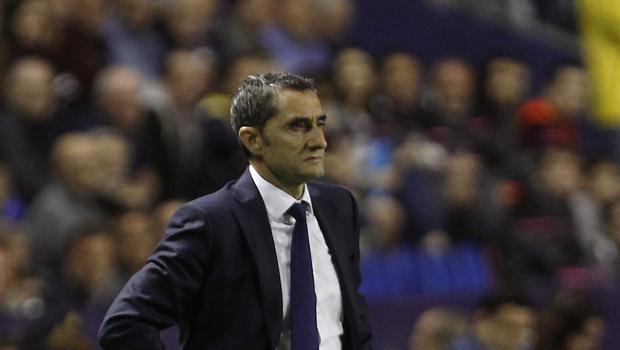 Ernesto Valverde saw his side beaten in LaLiga for the first time this term