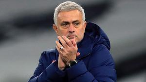 Jose Mourinho's side are in poor form in the Premier League (Adam Davy/PA)