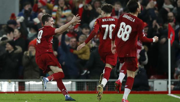 Liverpool are into the fifth round of the FA Cup (Martin Rickett/PA)