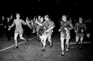 Dunne helped United win the European Cup at Wembley (PA)