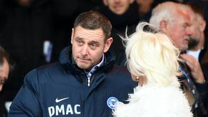 Peterborough chairman Darragh MacAnthony is keen for the League One season to be decided on the pitch (Joe Giddens/PA)