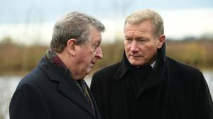 League Managers Association chief executive Richard Bevan, right, says Project Restart medical protocols will be presented to players and managers next week (Joe Giddens/PA)